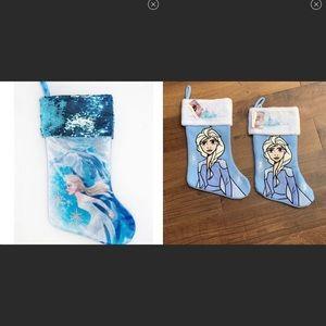 3 NWT frozen 2 Elsa stockings